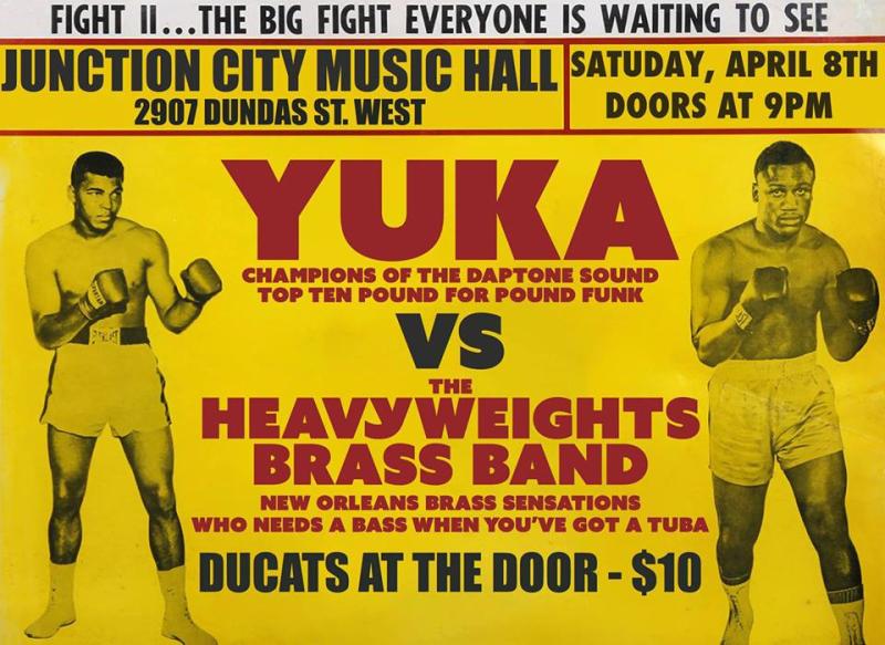 Yuka Heavyweights JCMH April 8